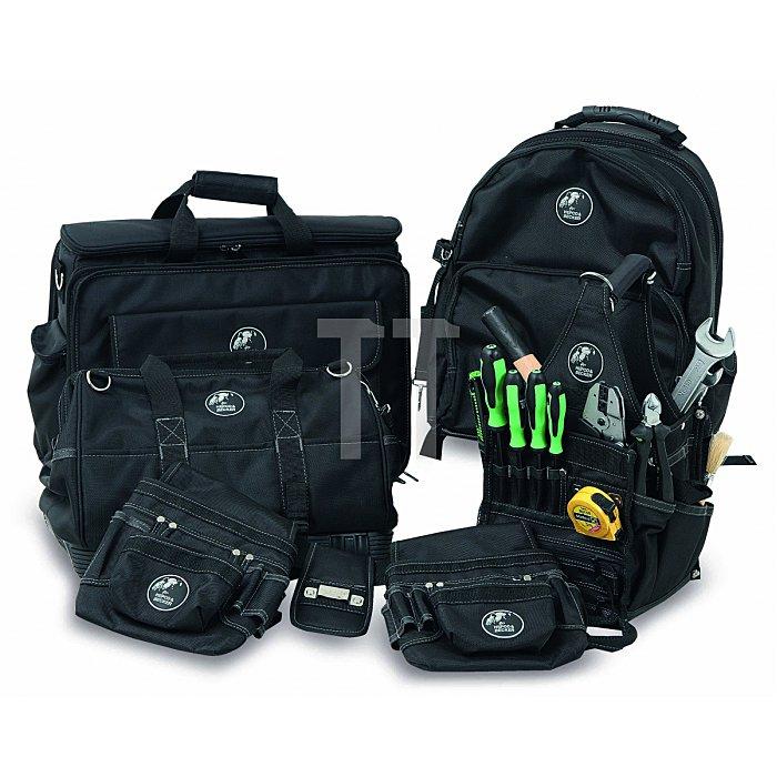 Kleine Techniker Kombisofttasche für Laptop und Werkzeug Polytex 390x300x100mm