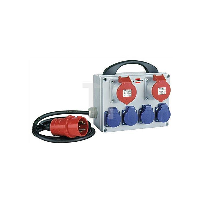 Kleinstromverteiler IP44 H07RN-F5x1,5mm2 4Schu./2CEE BRENNENSTUHL u.CEE 5x16A