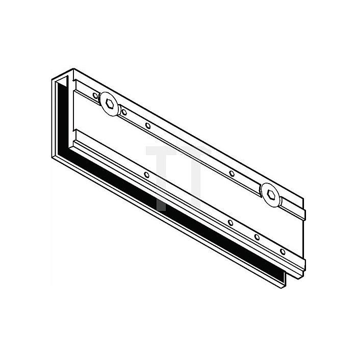 Klemmplatte für TS 3000 V weiss RAL 9016 für Ganzglastüren