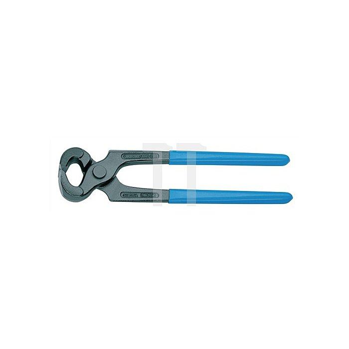 Kneifzange 225mm Tauchisol. m.blaugetauchtem Griffschutz Qualitätswerkzeugstahl