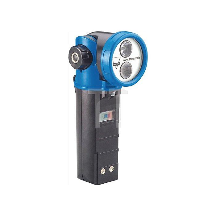 Knickkopfleuchteuchte HL 20 SET LED Leucht-W.200m blau Acculux