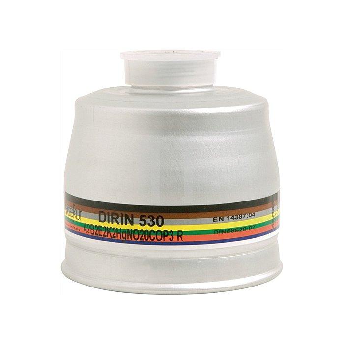 Kombifilter DIRIN 530 A2 B2 E2 K2 Hg NO 20CO-P3R D