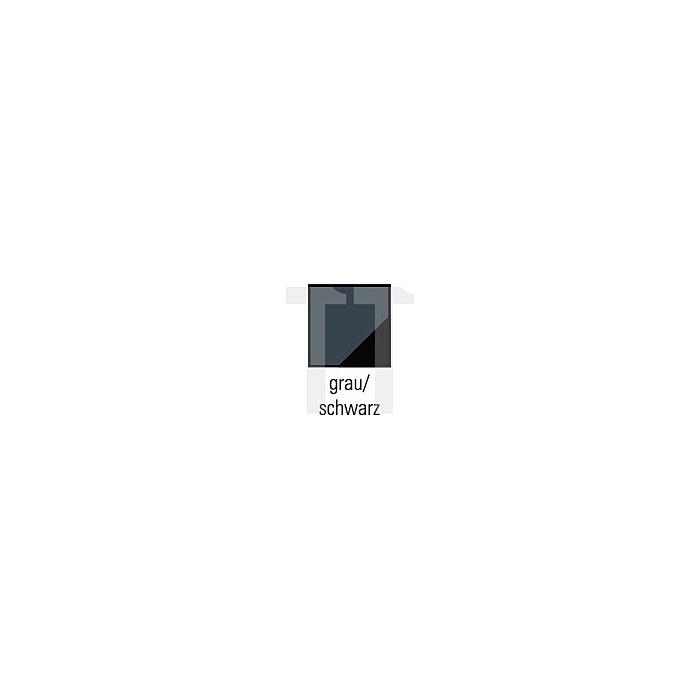 Kombijacke 5in1 Gr.XXL grau/schwarz Steppjacke austrennbar wasserdicht