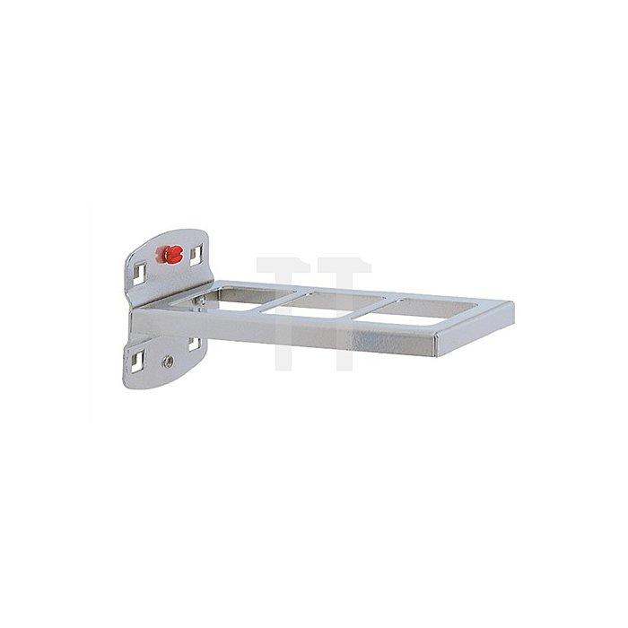 Kombinationshalter 2tlg L.150xB.55mm f.Lochplattensystem