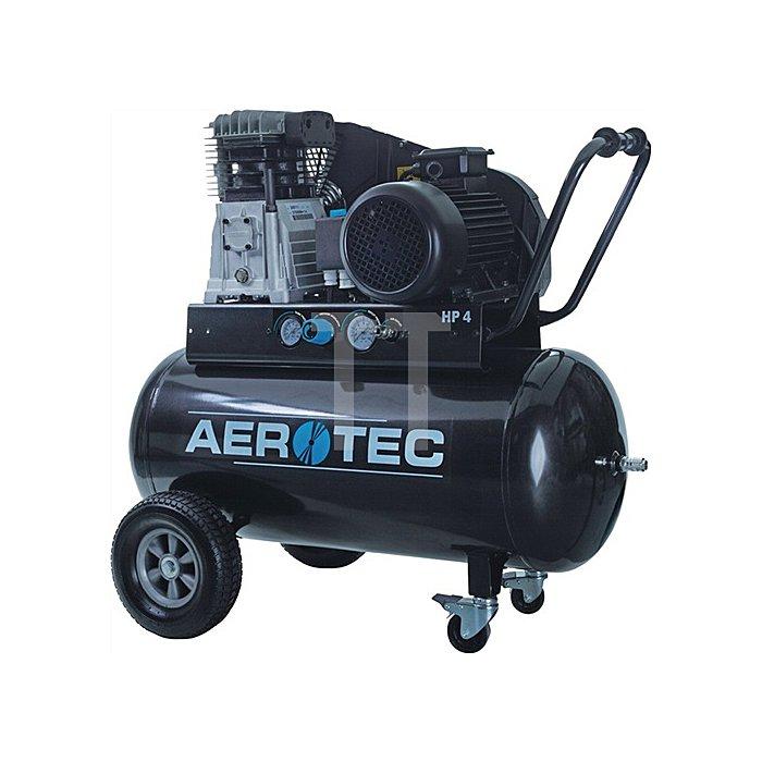 Kompressor 600-90 TECH 600L/375L/90L/10bar/3,0kW/fahrbar/400V