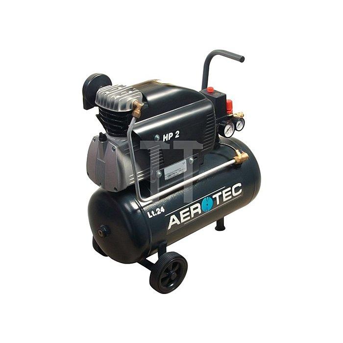 Kompressor Aerotec 220-24 210L/130L/8bar/24L/1,5KW/fahrbar/230V