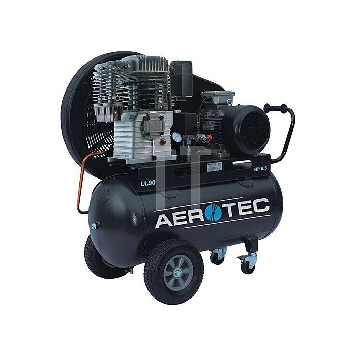 Kompressor Aerotec 780-90 780l/520l/90l/10bar/4,0kW/fahrbar/400V