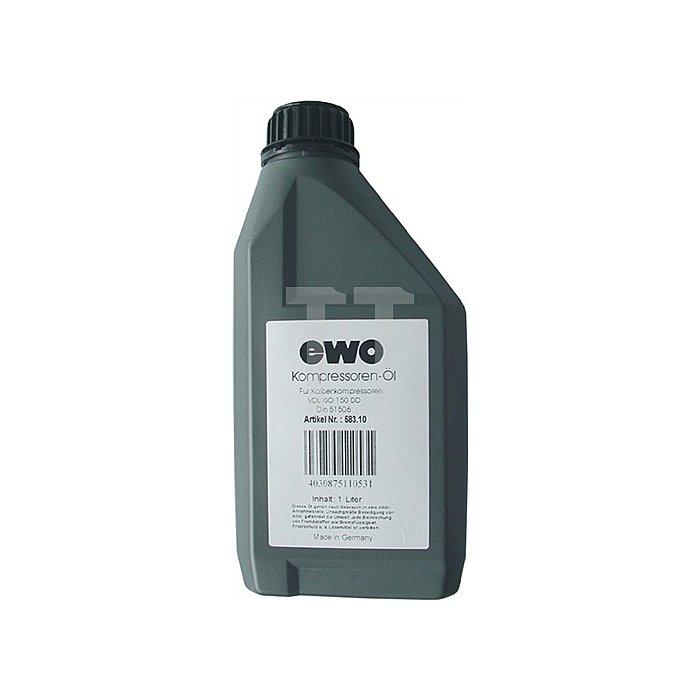 Kompressorenöl 1l Verdichttemp.220Grad EWO 152mm2