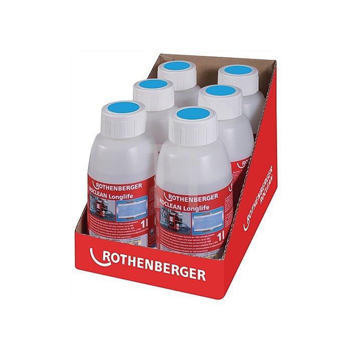 Konservierungsmittel ROPULS ROCLEAN f.Radiat.-/Flächenheiz. 6 Flaschen Rothenber