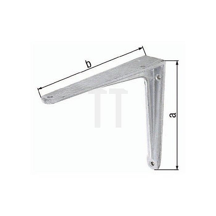 Konsole 175x200mm Aluminiumguss a. T-Profil GAH