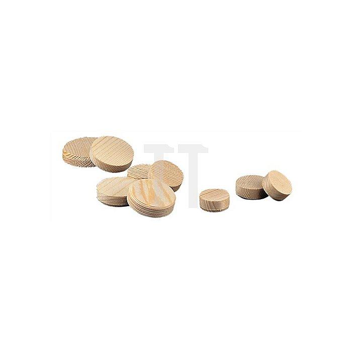 Konusplättchen Durchmesser 25mm Fichte Inhalt je Karton ca. 450 Stk.