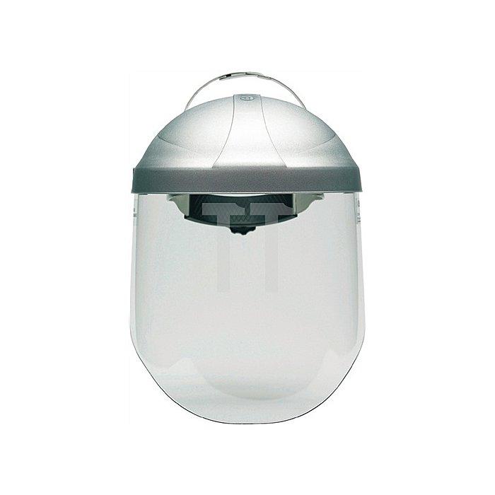 Kopfhalterung m.Visier Tuffmaster 2tlg. Thermoplast-Kappe 3M 5stufig verstellb.