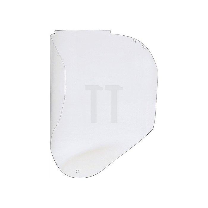 Kopfschutzscheibe zu 4000370410 Gesichtsschutzschirm Bionic EN166 PC klar