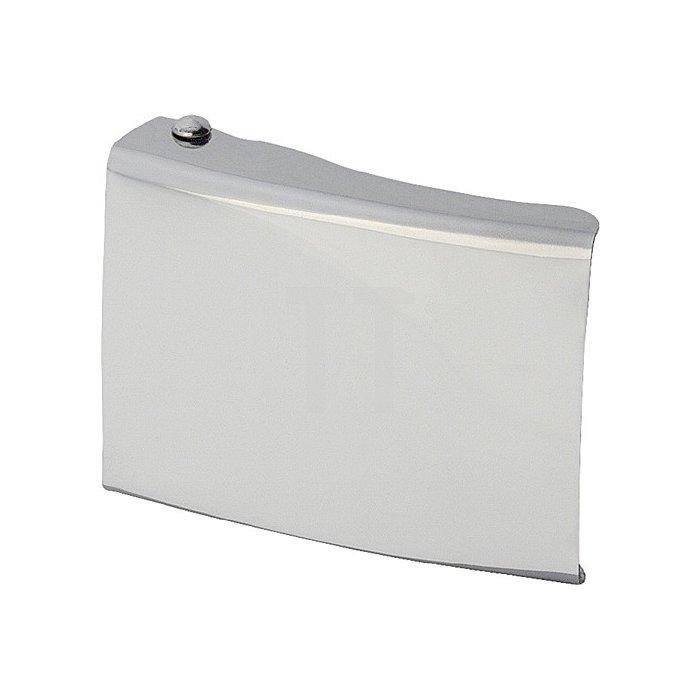 Koppelschloss neutral universal silber