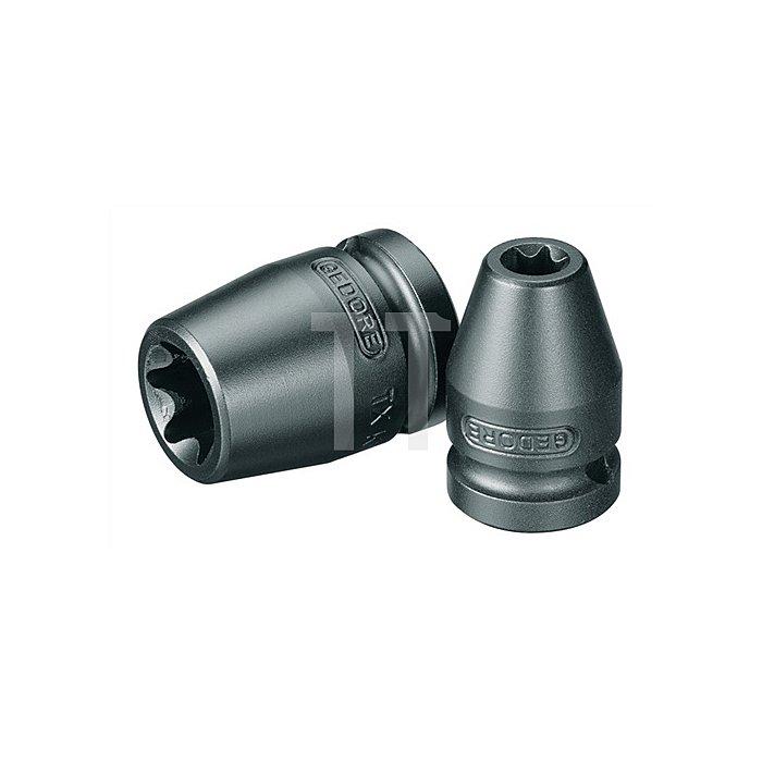 Kraftschraubereinsatz 1/2Zoll Außen-TORX E18