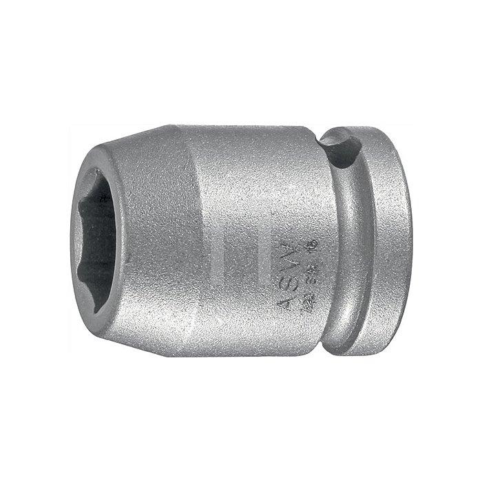 Kraftschraubereinsatz DIN3121 720 SW10mm 1/2Zoll 4KT Gesamt-L.38mm FormG12,5 ASW