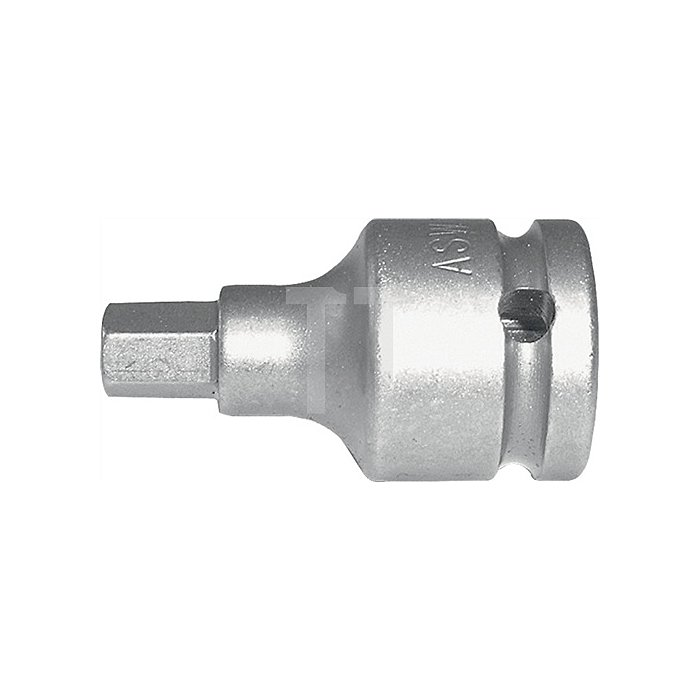 Kraftschraubereinsatz SW12mm 1/2Zoll 4KT DIN3121 ASW Form G12,5