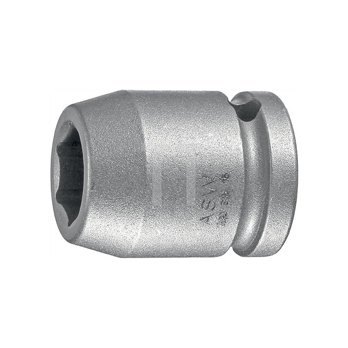 Kraftschraubereinsatz SW22mm 1/2Zoll 4KT DIN3121 ASW Form G12,5