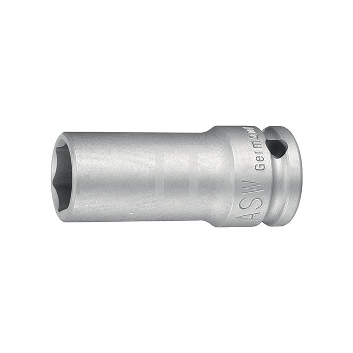 Kraftschraubereinsatz SW24mm 1Zoll 4KT DIN3121 ASW