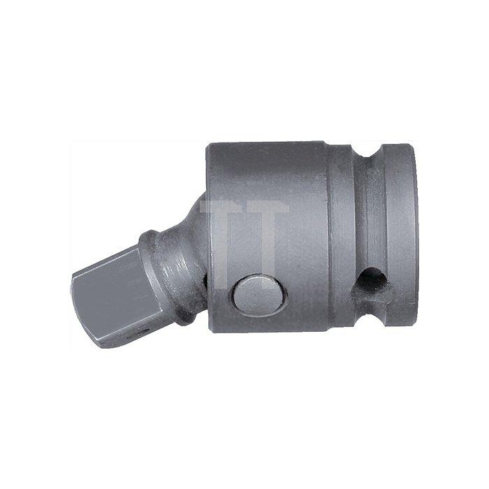 Kraftschrauberkardangel. 1/2 Zoll L. 62 mm manganphosphatiert