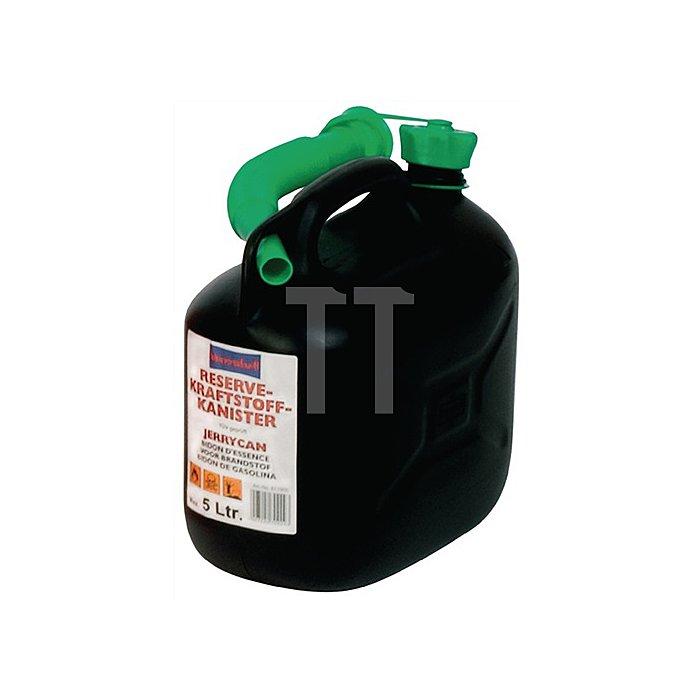 Kraftstoffkanister B. 147mm H. 247mm Inhalt 5l L. 265mm schwarz
