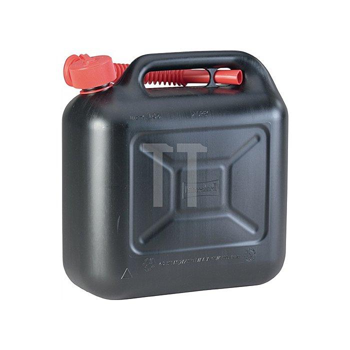 Kraftstoffkanister Transportkanister Bx1780xH435mm Inhalt 20l L. 365mm schwarz