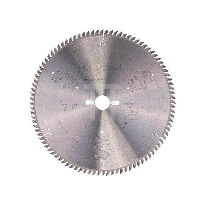 Kreissägeblatt Außen-D.300mm Bohr. 30mm 96Zähne Schnitt-B.3,2mm Expert for Wood