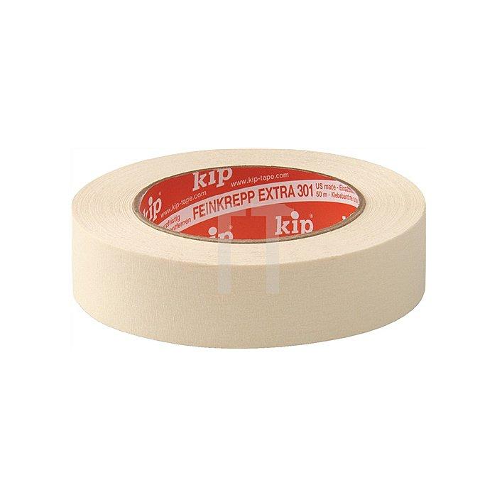 Kreppband 305 Länge 50m Breite 25mm extra fein