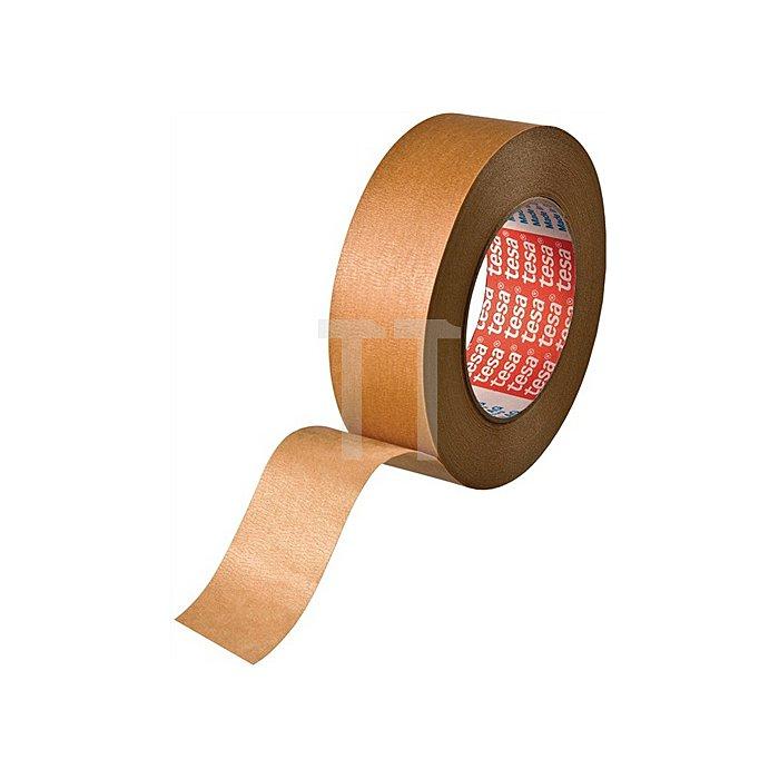 Kreppband 4304 Länge 50m Breite 38mm schwach gekreppt Farbe braun tesa