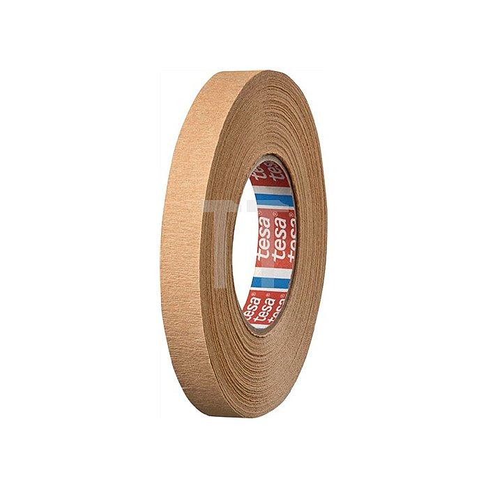 Kreppband 4319 Länge 50m Breite 19mm chamois stark gekreppt tesa