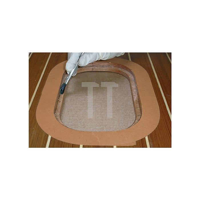 Kreppband 4319 Länge 50m Breite 25mm chamois stark gekreppt tesa