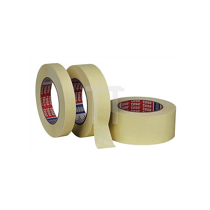Kreppband 5281 Länge 50m Breite 50mm transparent glatt tesa