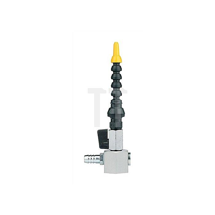 Kühlmittelgelenkschlauch 15tlg. L.320mm R 3/8Zoll m.Magnetfuß/Kugelhahn