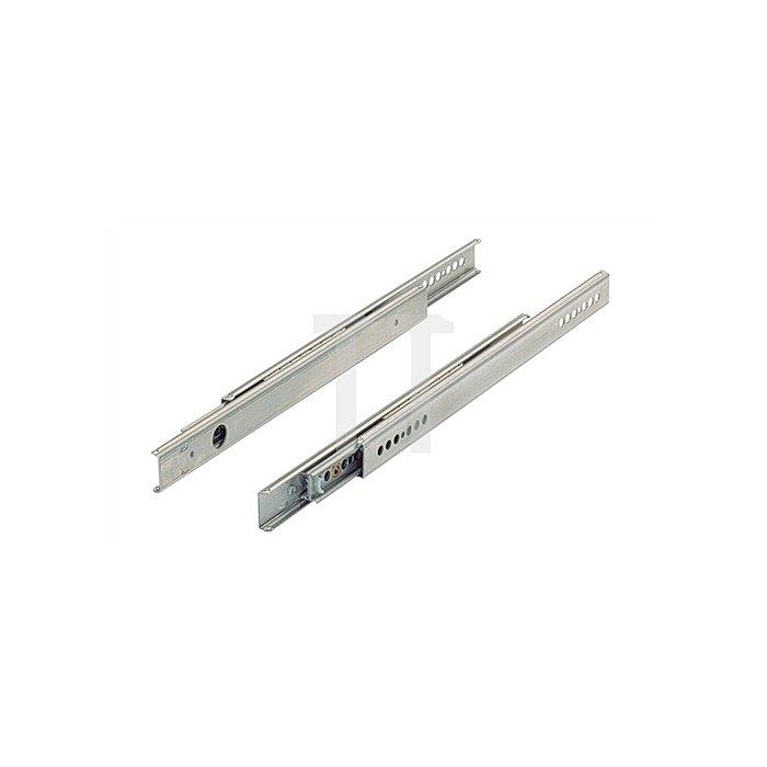 Kugelauszug Vollauszug 026561 Schubkastenlänge 210-310mm Stahl verzinkt