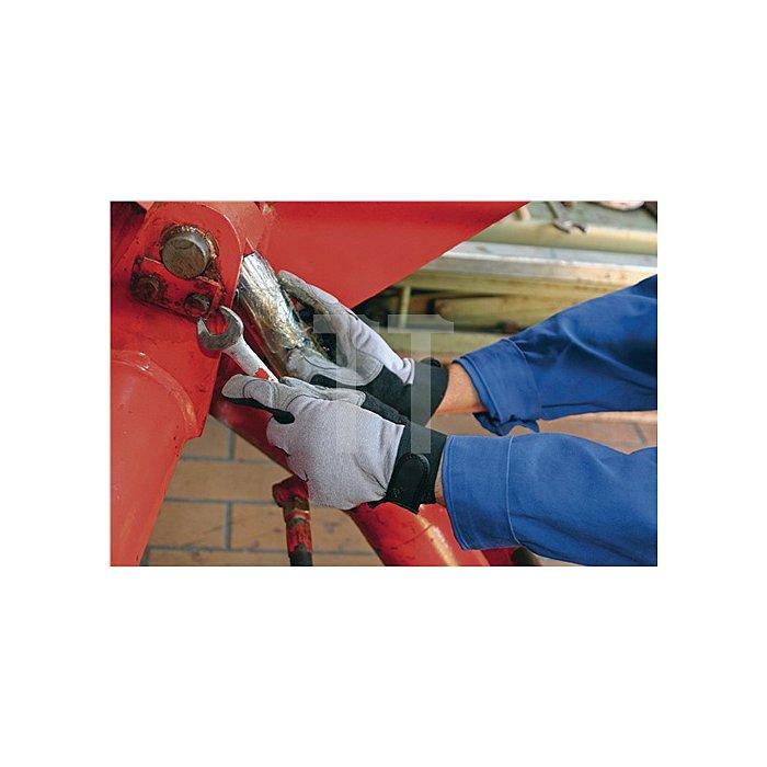 Kunstlederhandschuhe RewoMech Gr.10 m.Klettverschluss KCL