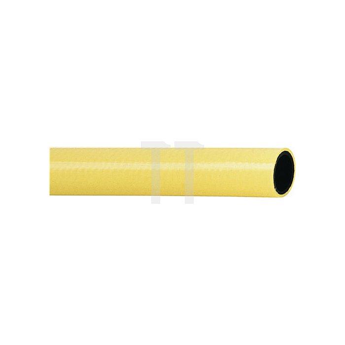 Kunststoff-Wasserschl. 25 x 3,5mm TRICOTECH 50m Seele:schwarz Decke:gelb