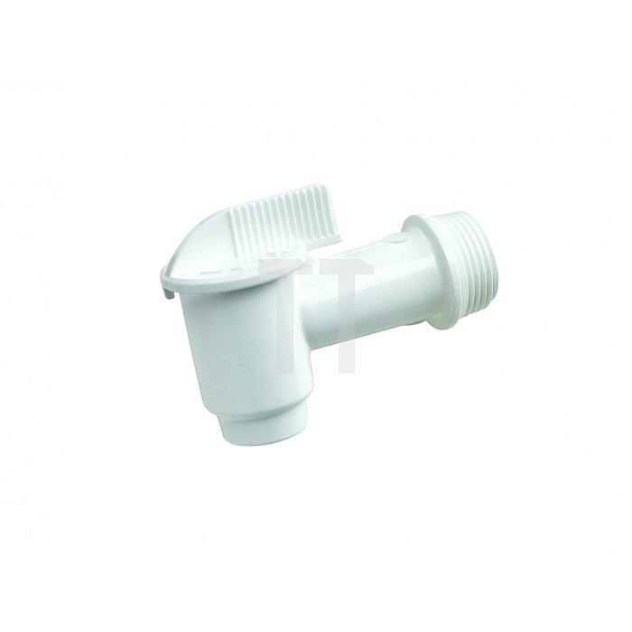 KunststoffAblasshahn für 200 ltr. Kunststoff-Fässer Kunststoff Ablasshahn Fass