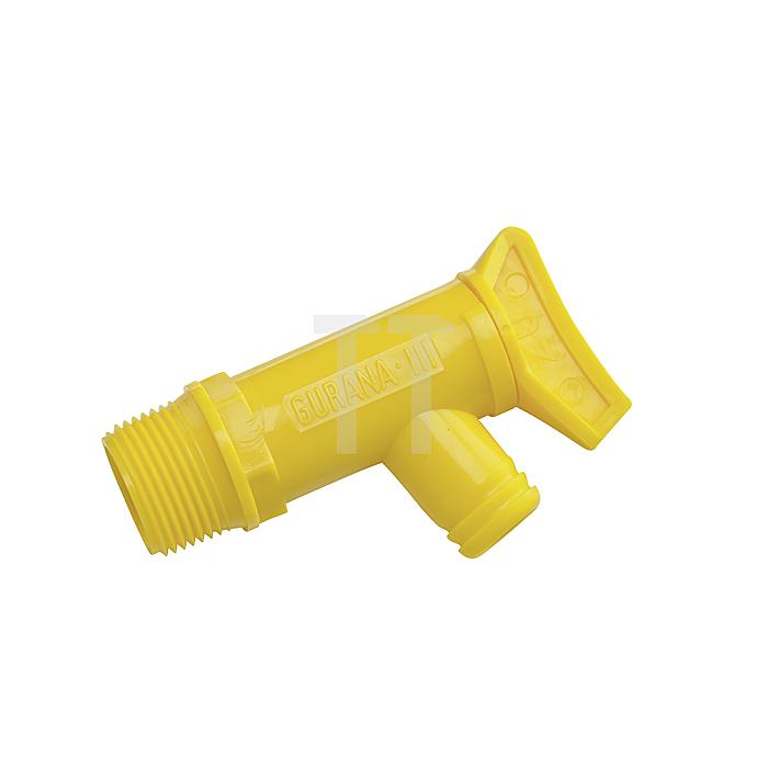 KunststoffAblasshahn für Blechfässer Ablasshahn Kunststoff Blechfass Hahn
