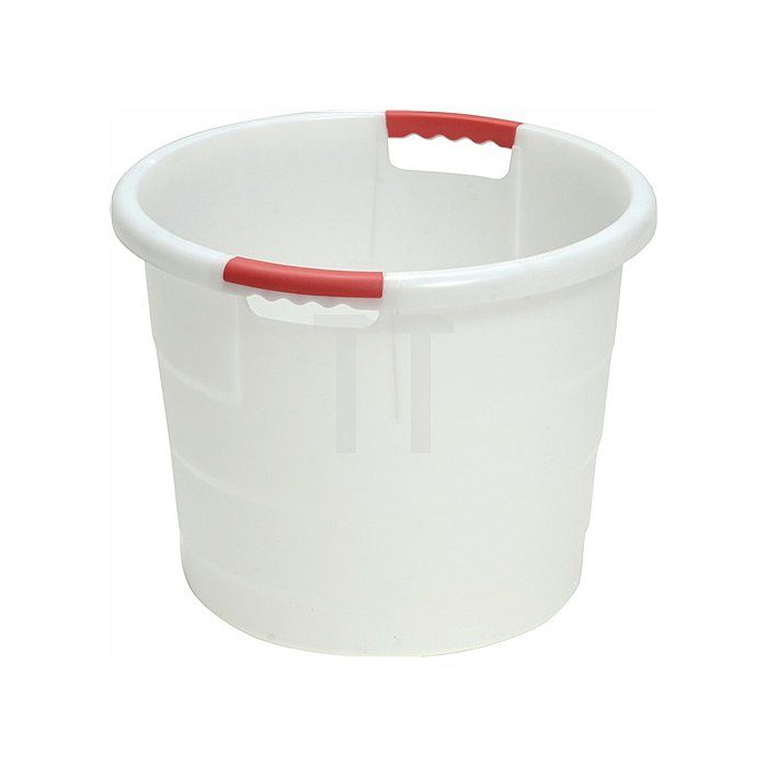 Kunststoffbehälter 70l rund D.550xH425mm natur lebensmittelecht