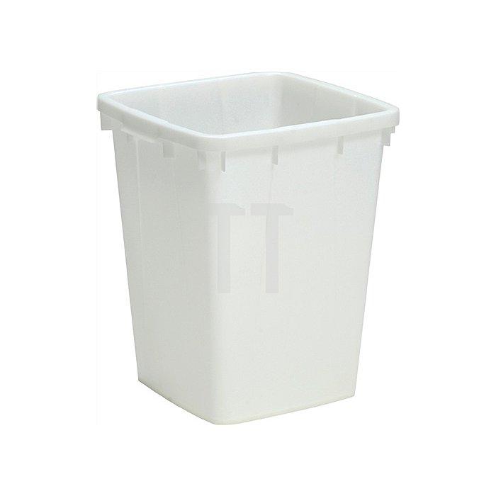 Kunststoffbehälter 90l eckig L510xB490bH600mm natur lebensmittelecht