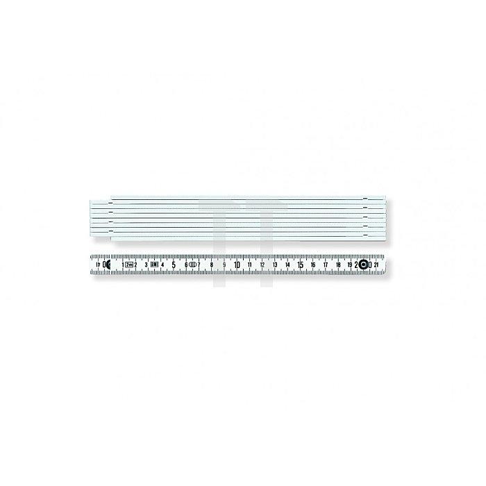 BMI Kunststoffgliedermaßstab, Länge 1 m, mm 941104100