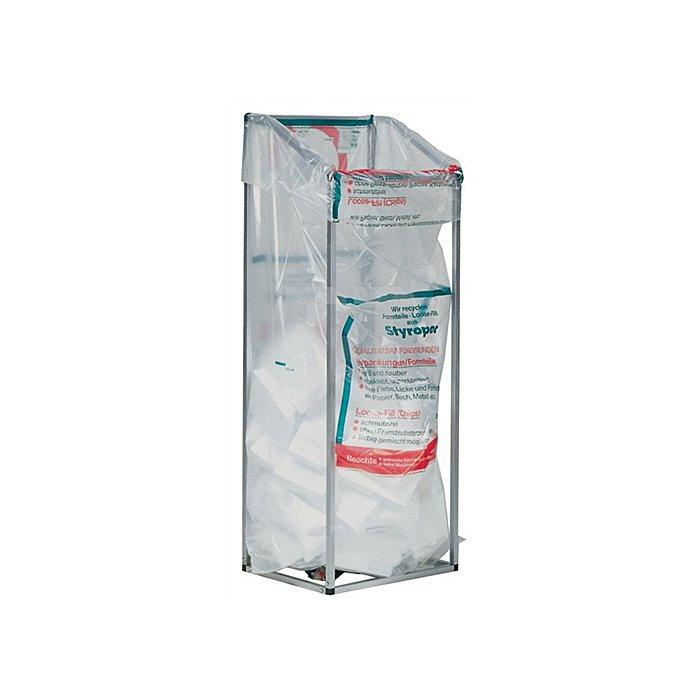Kunststoffsack 1m3 80µm transp. 1300x2600mm 20St./VE