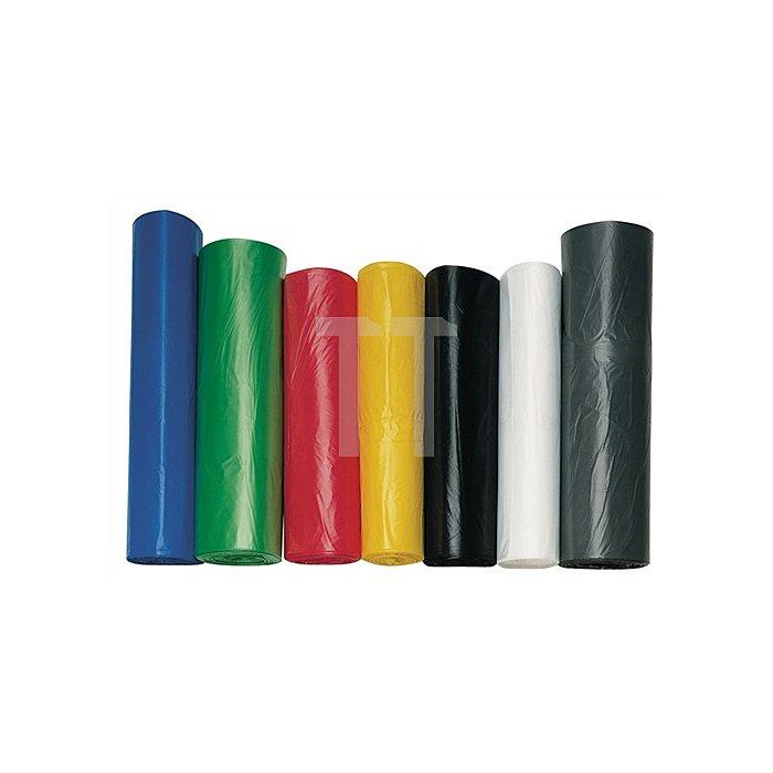 Kunststoffsack 60l 7µm transp. 630x740mm gerollt 2000St./VE