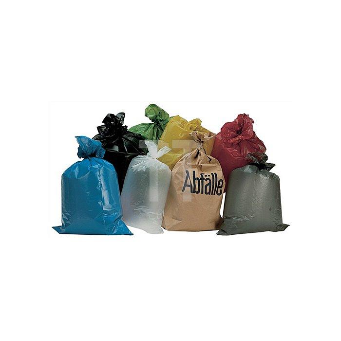 Kunststoffsack 70l 50µm gelb 575x1000mm gerollt 250St./VE