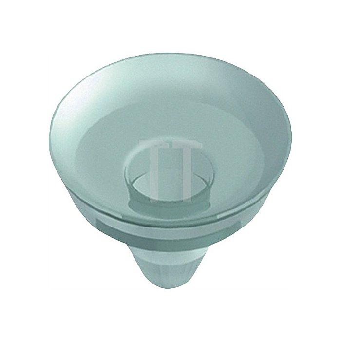 Kunststoffsauger 11605 f. Aufsteckhalter 11604/11612/10300