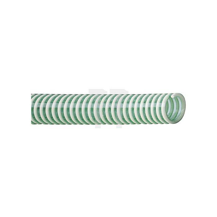 Kunstst.Saug-u.Druckschl. Innen-Durchm. 32mm COSMO 50m PVC grün-transp.