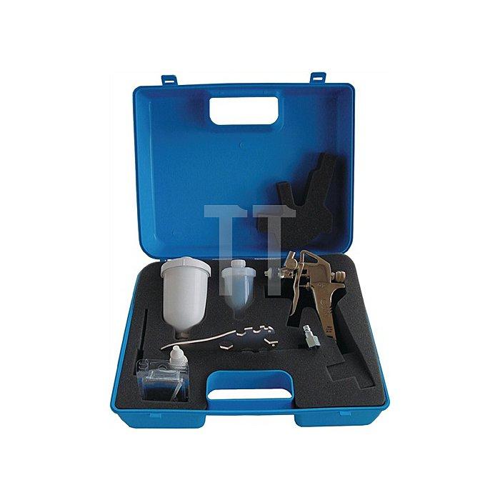 Lackierpistolen-Set 7tlg HVLP minipaint i.Koffer EWO
