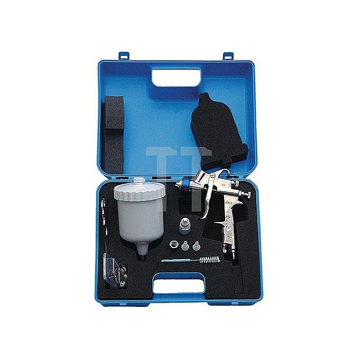 Lackierpistolen-Set 8tlg HVLP paintprofi i.Koffer EWO
