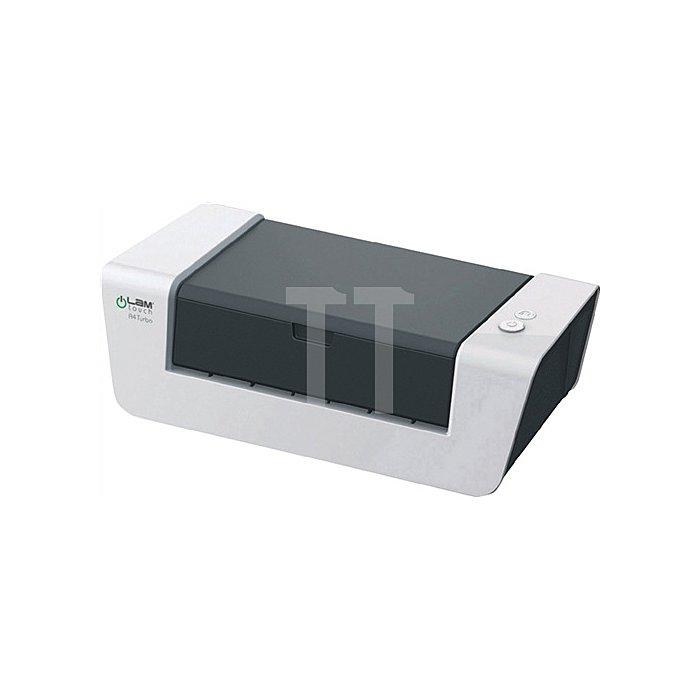 Laminiergerät f.DINA4 B.max.230mm Vorheizzeit 5min 700mm/min