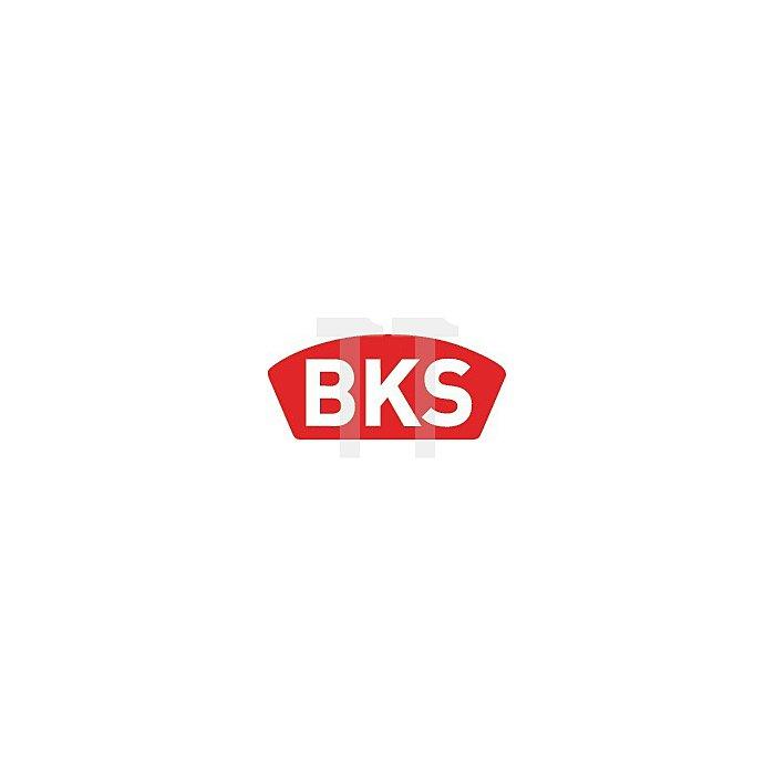 Lappenschließblech B 9000 0435 Stulp abgerundet DIN li.Edelstahl
